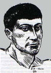 Autoportrait d'Eugène Dabit 1936